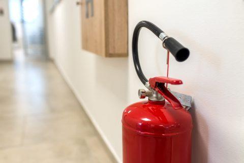 extintor projeto contra incêndio